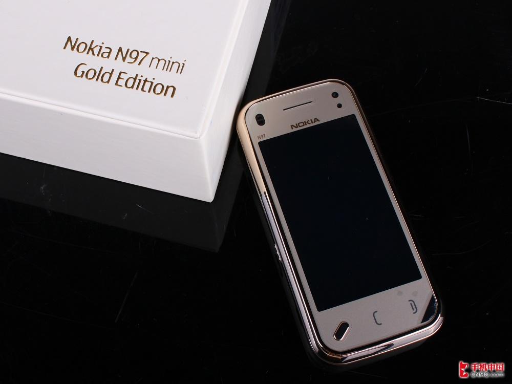 诺基亚N97 mini黄金版