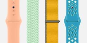 苹果Apple Watch表带 春天的配色